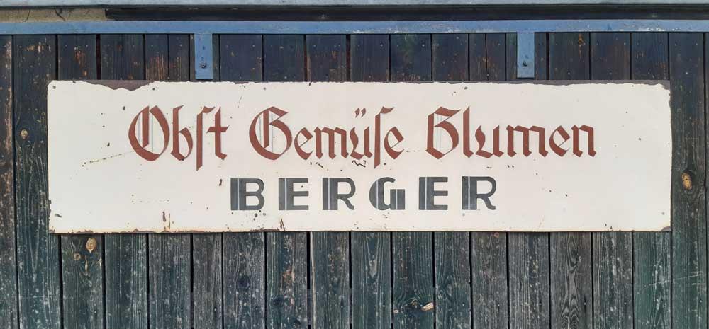 Gaertnerei Berger